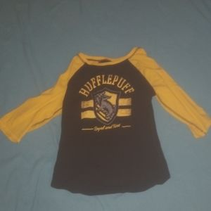 A two in one hufflepuff shirt